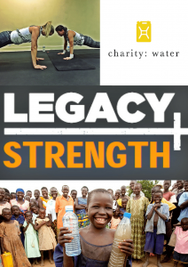 legacy charity water